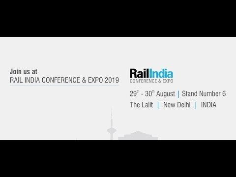 Matrix Comsec at RAIL INDIA CONFERENCE & EXPO, New Delhi | 29 - 30 August