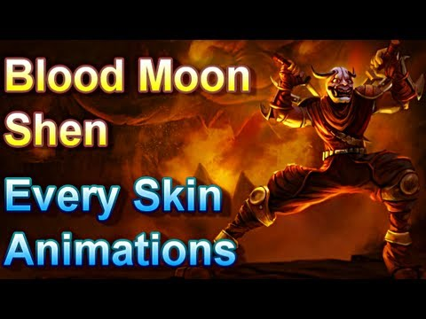 moon - This video contains every types of auto-attack, skills, movements, jokes, taunts, dance, laughs, point capturing and every animation there is for Blood Moon ...