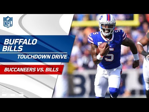 Video: Buffalo's Powerful Ground Game Guides Them on Big TD Drive! | Bucs vs. Bills | NFL Wk 7 Highlights