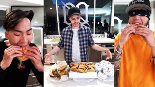 THE BEST FAST FOOD BURGER? (IN N OUT VS. FIVE GUYS)