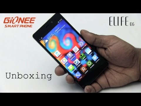e6 - This is my unboxing video of the Gionee Elife E6. The Elife E6 is the new comer Gionee's latest entrant into the over crowded Mid-Range Android segment in th...