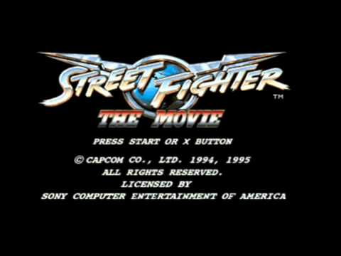 Street Fighter: The Movie (PSX/Saturn) - Guile Theme