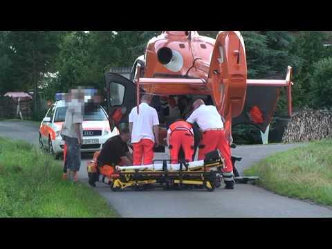 Berndorf: Hand verletzt an Rasenmäher