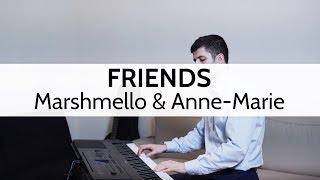 """Video """"FRIENDS"""" - Marshmello & Anne-Marie (Piano Cover) by Niko Kotoulas MP3, 3GP, MP4, WEBM, AVI, FLV Februari 2018"""