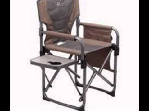 Directors Chairs With Folding Side Table