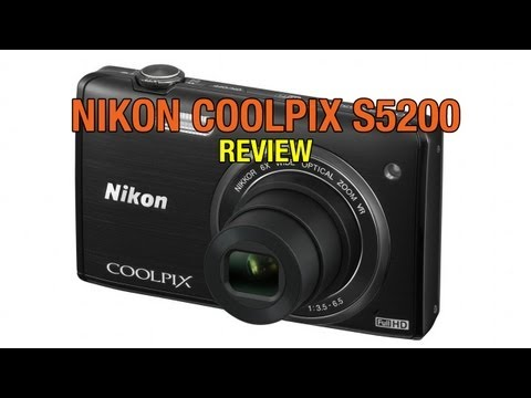 Nikon Coolpix S5200 Review