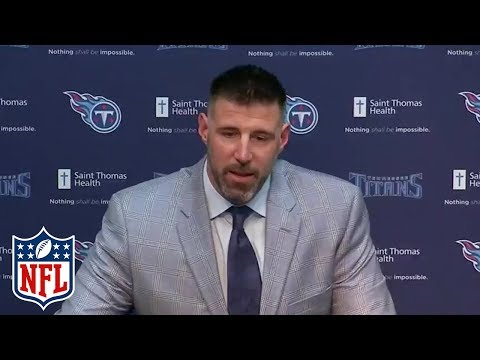 Video: Mike Vrabel Introduced as Tennessee Titans Head Coach | NFL Press Conference