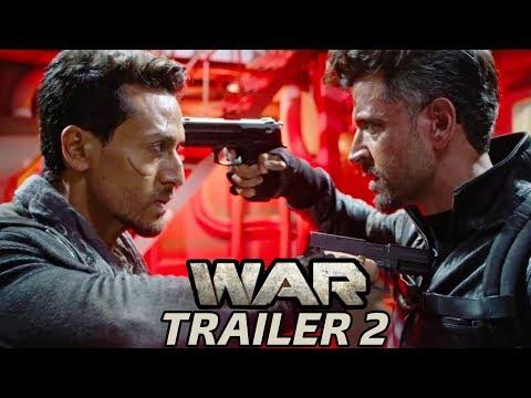 War Trailer 2   Hrithik Roshan, Tiger Shroff, Vaani Kapoor   New Movie Trailer 2019