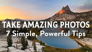 7 Powerful Photography Tips
