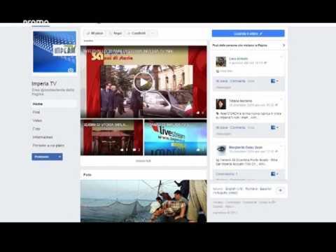 IMPERIA TV VERSO IL FUTURO PRESENTE  NEI SOCIAL NETWORK