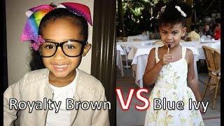 Video Who's Richer Royalty Brown  Or Blue Ivy Carter 2017 [Royalty Brown & Blue Ivy Net Worth ] MP3, 3GP, MP4, WEBM, AVI, FLV November 2017
