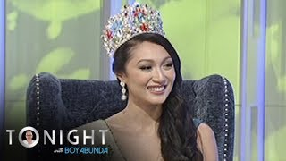 Miss Philippines Earth 2017 Karen Ibasco explains the concept of her advocacy- sustainable and renewable energy.Subscribe to ABS-CBN Entertainment channel! -http://bit.ly/ABS-CBNEntertainmentWatch the full episodes of Tonight With Boy Abunda on TFC.TVhttp://bit.ly/TonightWithBoyAbunda-TFCTVand on IWANT.TV for Philippine viewers, click:http://bit.ly/TonightWithBoyAbunda-IWANTvVisit our official website!http://entertainment.abs-cbn.com/tv/shows/tonightwithboyabunda/mainhttp://www.push.com.phFacebook:http://www.facebook.com/ABSCBNnetworkTwitter:https://twitter.com/ABSCBNhttps://twitter.com/abscbndotcomInstagram:http://instagram.com/abscbnonline