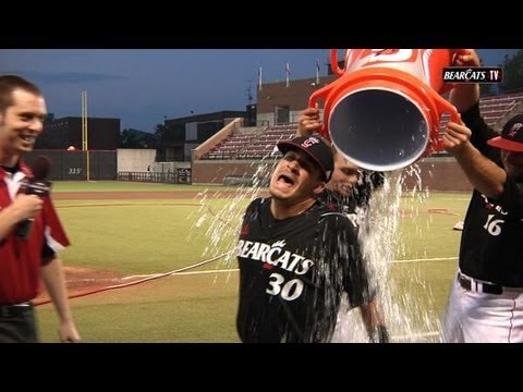 Bearcats Baseball Post Game Shenanigans