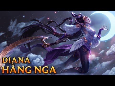 Diana Hằng Nga - Lunar Goddess Diana
