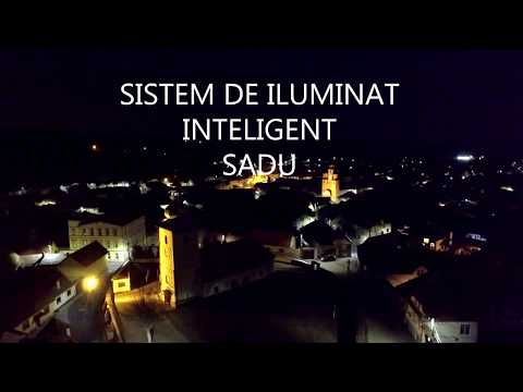 [video]Sistem de iluminat public inteligent in Sadu