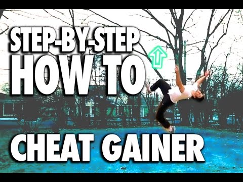 gainer - http://www.facebook.com/pigmiepro This tutorial will help you accomplish the cheat gainer, kick the moon, slant gainer, gainer, flip kick, flip 180. Regardle...