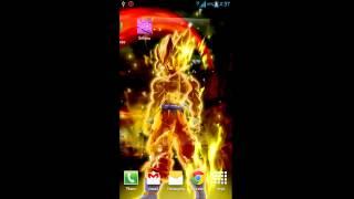 Goku Live Wallpaper YouTube video