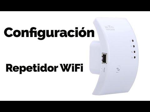 Tutorial Configuracion Router repetidor señal wifi wireless