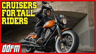9. 5 Best Beginner Cruiser Motorcycles For Tall Riders 2017!