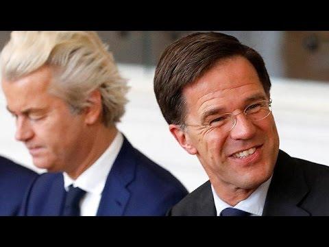 Αναστεναγμός ανακούφισης σε Χάγη και Ευρώπη μετά τη νίκη του Μαρκ Ρούτε