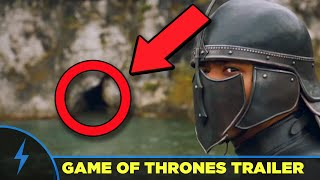 "Game of Thrones Season 7 New Trailer (Winter Is Here) gets a Full Breakdown and Analysis! Erik Voss explains all the Game of Thrones theories and predictions, and all Game of Thrones Easter Eggs that you missed. What is the meaning of the ""lone wolf"" quote that Sansa says at the end? What is the significance of Beric Dondarrion holding a flaming sword? Who is riding the back of the dragon?Game of Thrones - Top 12 Mysteries Left - MUST ANSWER QUESTIONS: https://youtu.be/H_4srDrGKRoCONNECT WITH US!Facebook: http://facebook.com/newmediarockstarsTwitter: http://twitter.com/newrockstarsCONNECT WITH ERIK:http://www.twitter.com/eavossSPECIAL THANKS TO OUR PATREON SUPPORTERS (http://www.patreon.com/newrockstars), including these beautiful people:Kelly HopperKenny SmithMatthew SalvasPony StarkJ. Drew KimWilhelmina EbbesonBM HavocRise BellandiEric OliverLucious BarnesChris ColeExecutive Creative Director: Filup Molina http://www.twitter.com/fimoExecutive Producer: Jeben BergPost Production Supervisor: Ericson Just http://www.twitter.com/justericson"