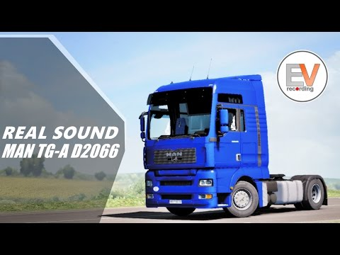 MAN TGA Sound Mod v1.0