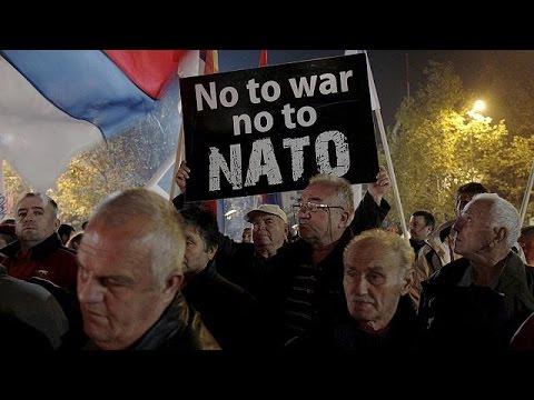 Mαυροβούνιο: Διαδήλωση κατά της ένταξης της χώρας στο ΝΑΤΟ