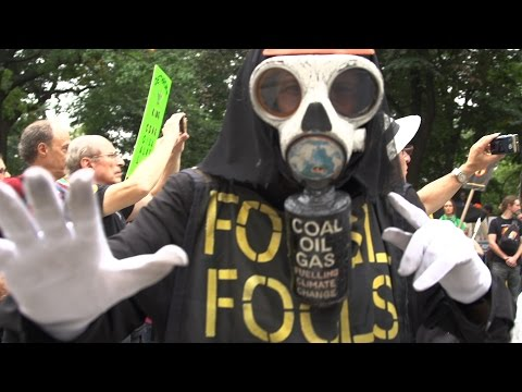 Video: Creepy Eliminationist Rhetoric at the Climate Change March
