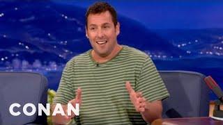 Adam Sandler Really Wants To See Shaq's Junk - CONAN on TBS