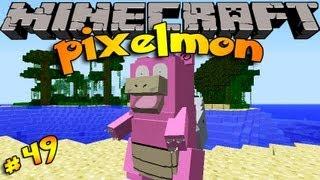 Pixelmon ! Minecraft Pokemon Mod!! Episode 49 - BURN BABY BURN!!