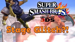 Captain Falcon Stage Glitch