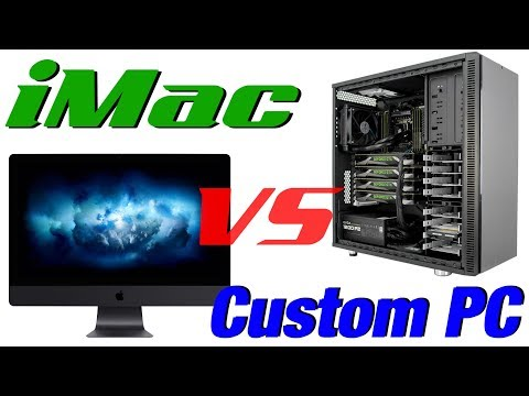 iMac Pro - Pricing and Specs (VS Custom PC)