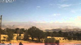 KCASQUIR2 Weather Time Lapse - 20150825