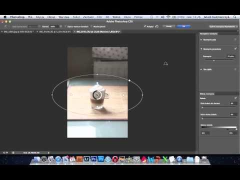 Cyfrowy efekt bokeh w Adobe Photoshop CS6 - poradnik wideo