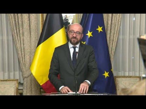 Belgien: Ministerpräsident Charles Michel kündigt Rüc ...