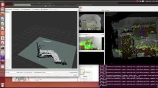 ROS+kinect v2 + rviz and rtabmap tutorial  (mapping)
