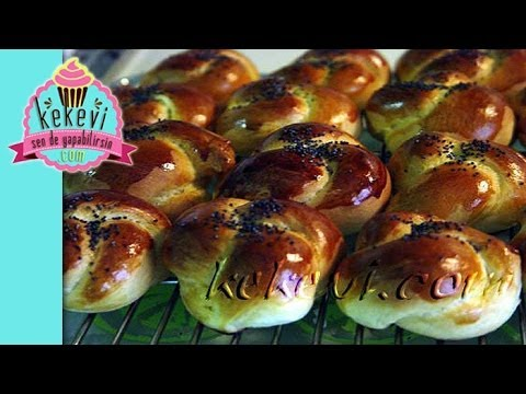 Açma / Düğüm Çörek Tarifi - Kekevi Yemek Tarifleri