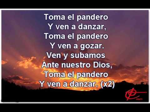 Toma El Pandero Con Letra