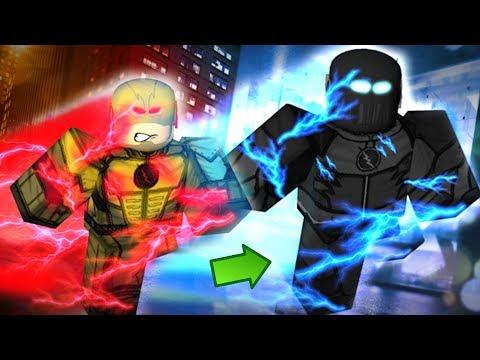 Roblox - FLASH REVERSO DESCOBRIU O EASTER EGG DO ZOOM! (The Flash CW Central City)