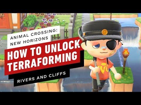 Animal Crossing: New Horizons - How to Unlock Terraforming (Island Designer Permits)