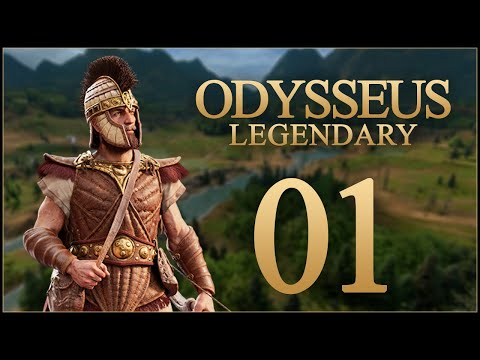 LORD OF ITHACA - Odysseus (Legendary) - Total War Saga: TROY - Ep.01!