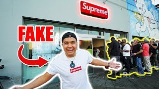 Video WEARING FAKE SUPREME TO THE SUPREME STORE IN LA!! (HYPEBEAST REACT) MP3, 3GP, MP4, WEBM, AVI, FLV Februari 2018