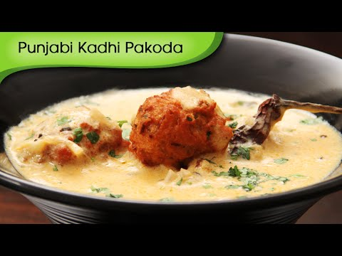 Punjabi Kadhi Pakoda | Traditional Punjabi Maincourse Recipe By Ruchi Bharani