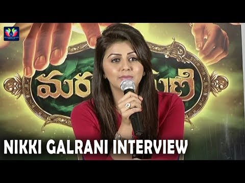 Nikki Galrani Interview About Marakathamani Movie | TFC Film News Movie Review & Ratings  out Of 5.0