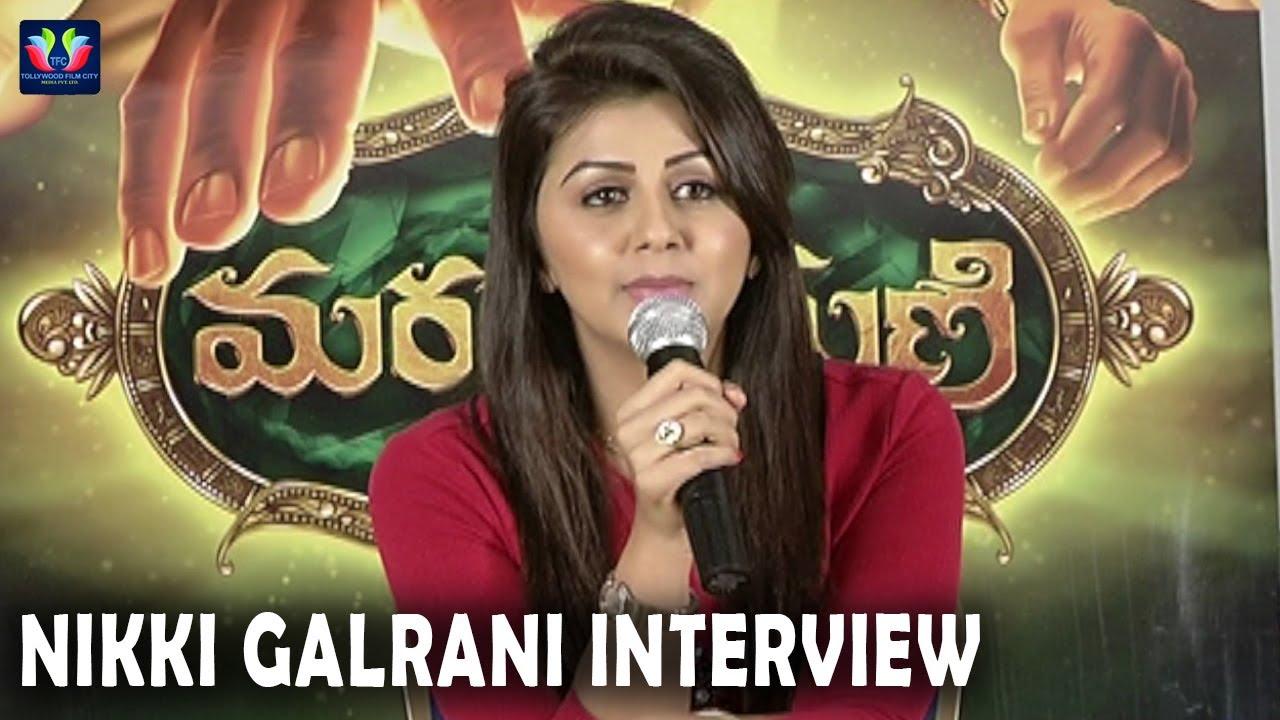 Nikki Galrani Interview About Marakathamani Movie | TFC Film News