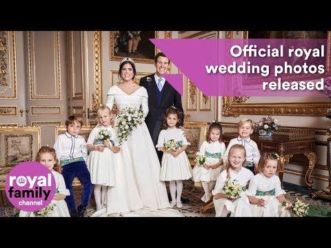 Official royal wedding photos of Princess Eugenie and Jack Brooksbank