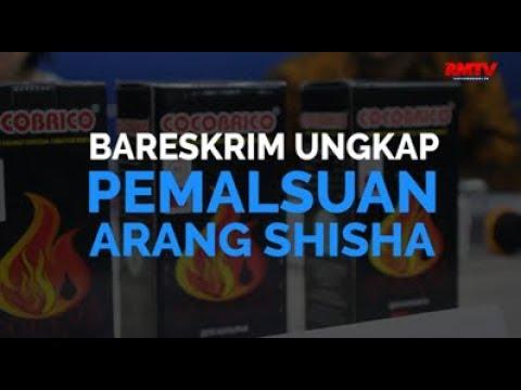 Bareskrim Ungkap Pemalsuan Arang Shisha