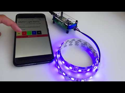Connecting ANAVI Light Controller to Your WiFi