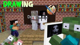 Video MONSTER SCHOOL - DRAWING KIDNAP CHALLENGE - Minecraft Animation MP3, 3GP, MP4, WEBM, AVI, FLV Agustus 2019