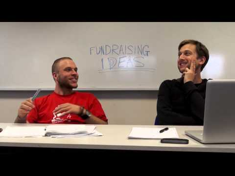 Mark and Robbie come up with fundraising ideas
